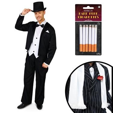 Great Gatsby 1920's Tuxedo Adult Costume Kit