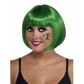 Green Adult Bob Wig