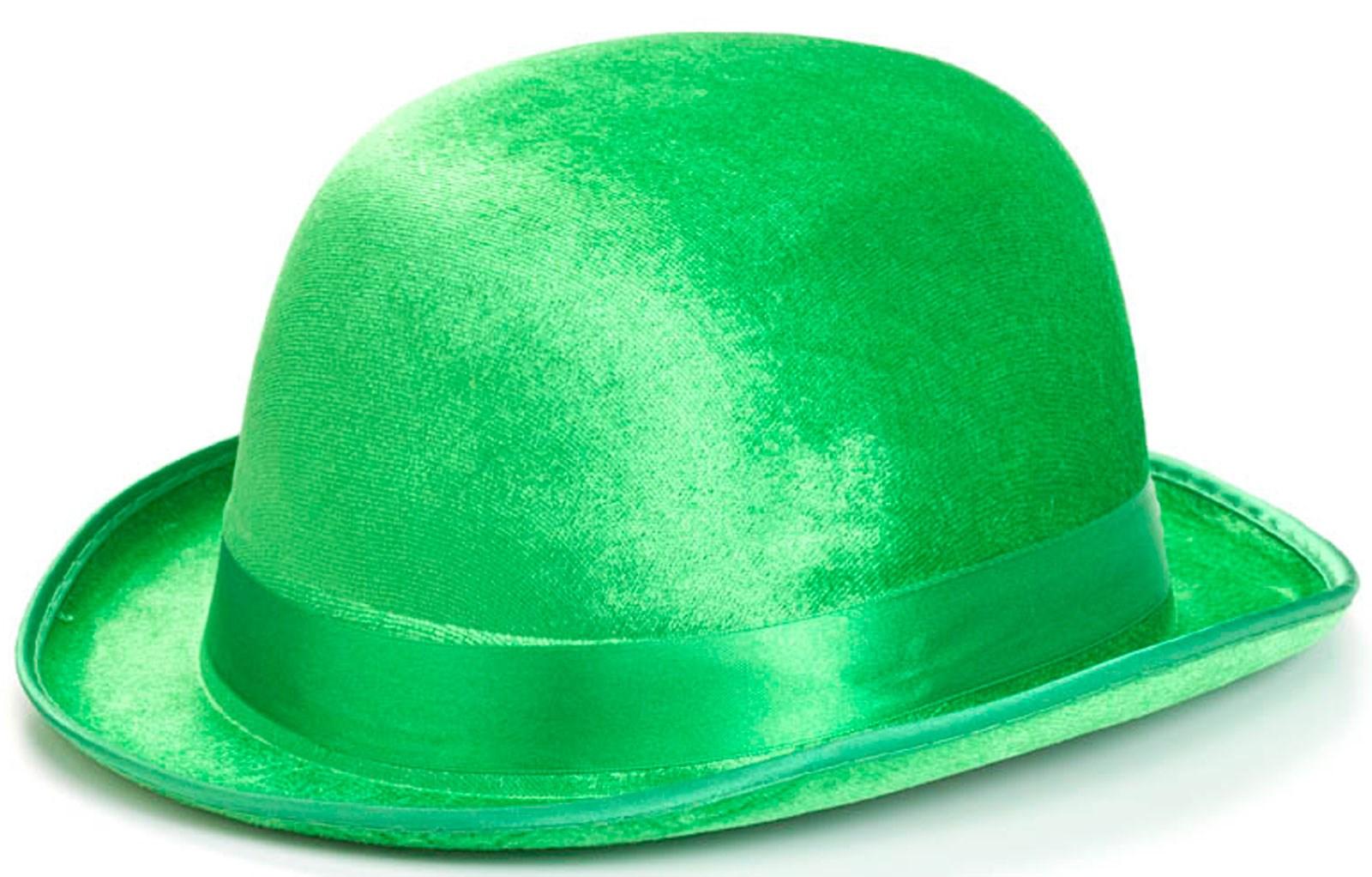 Green Derby Child Hat