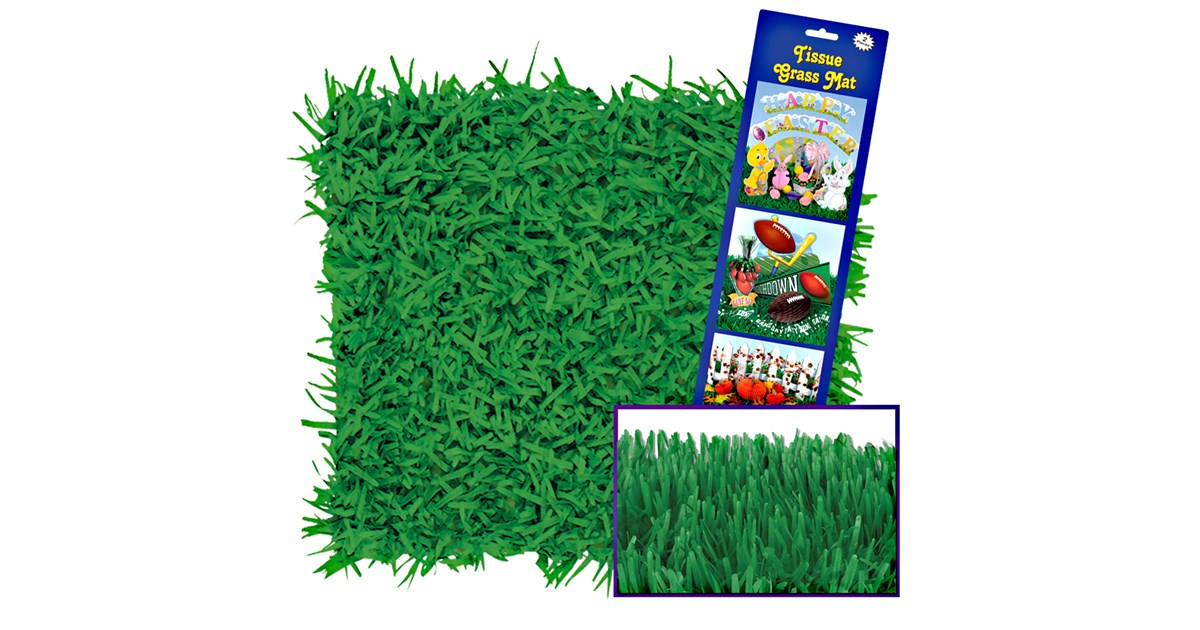 Green Grass Tissue Mats 2 Count Buycostumes Com
