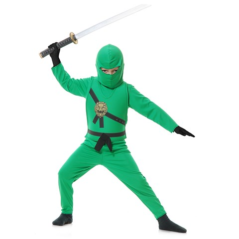 Green Ninja Child Costume