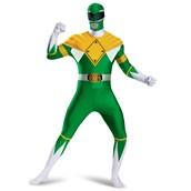 Green Power Ranger Bodysuit Adult Costume