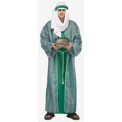 Green Wiseman Costume For Men