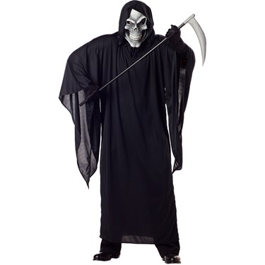 Grim Reaper Adult Plus Costume