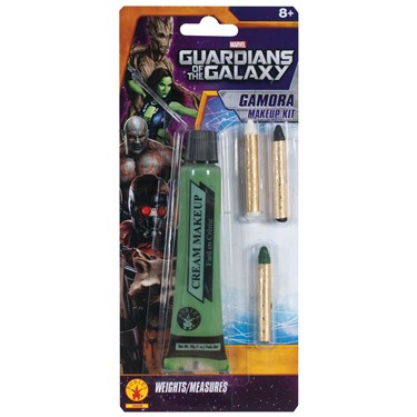 Guardians of the Galaxy - Deluxe Adult Gamora Make Up Kit