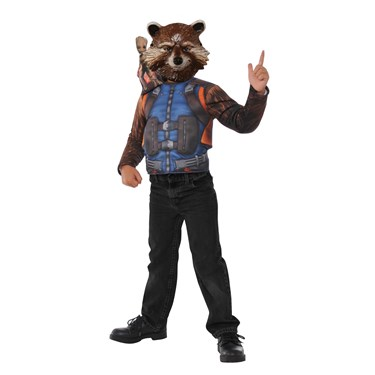 Guardians Of The Galaxy Rocket Raccoon Child Dress Up Set