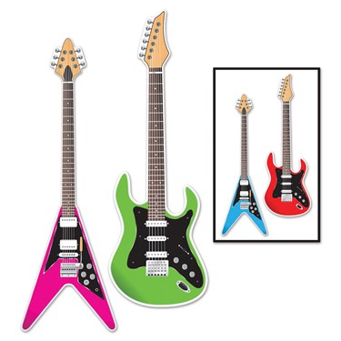 Guitar Cutouts (2 count)