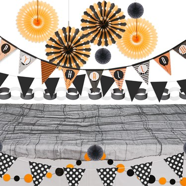 Halloween 15 pc Buffect Decor Kit