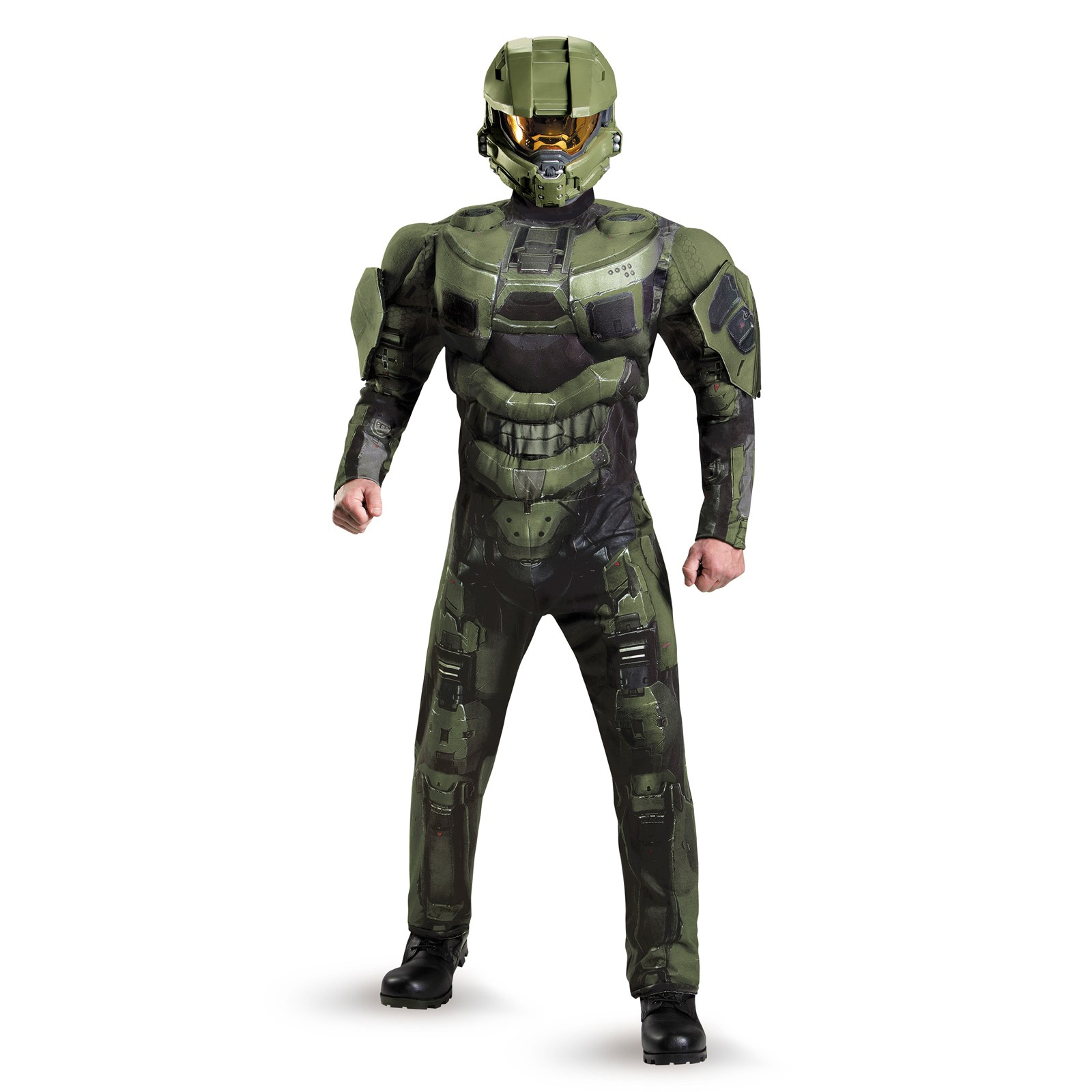 halo 3 deluxe master chief adult costume - Halo Reach Halloween Costume