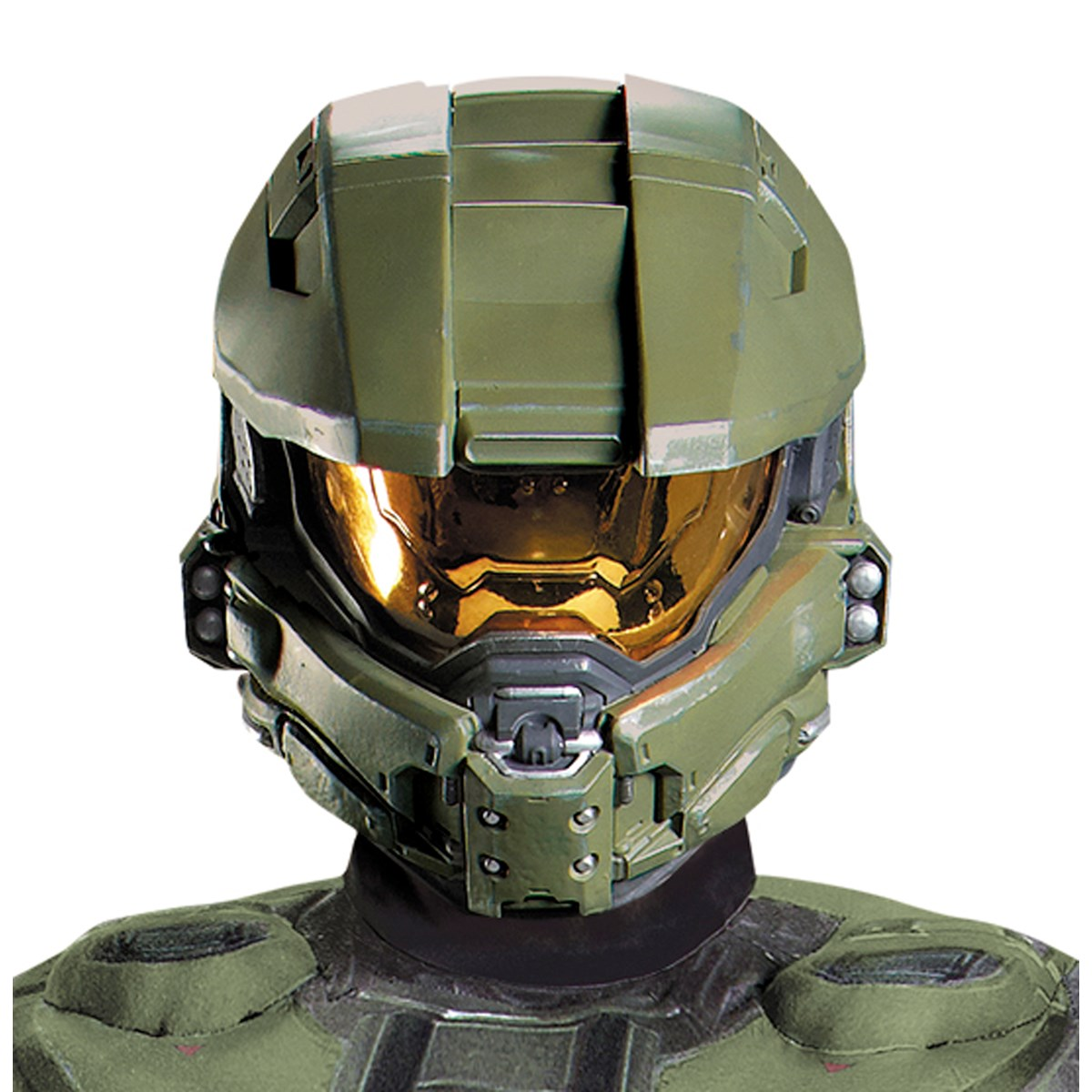 halo 3 master chief 2 piece vacuform mask adult buycostumescom - Halloween Halo