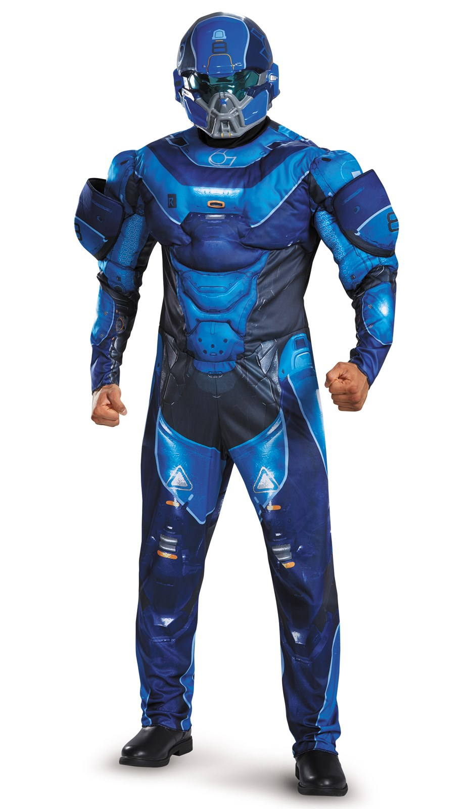 Blue Halo Costume For Kids