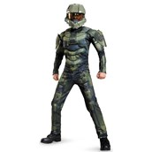 Halo: Master Chief Muscle Costume For Kids