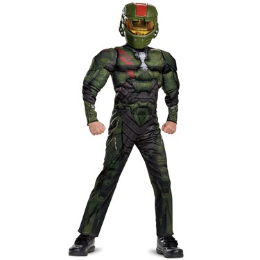 Halo Wars 2 Jerome Classic Muscle Child Costume