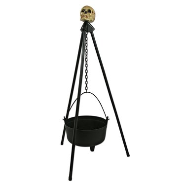 Hanging Cauldron With Stand