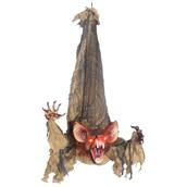 Hanging Slashing Bat Animated Prop