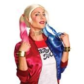 Harley Quinn Adult Choker and Bracelets