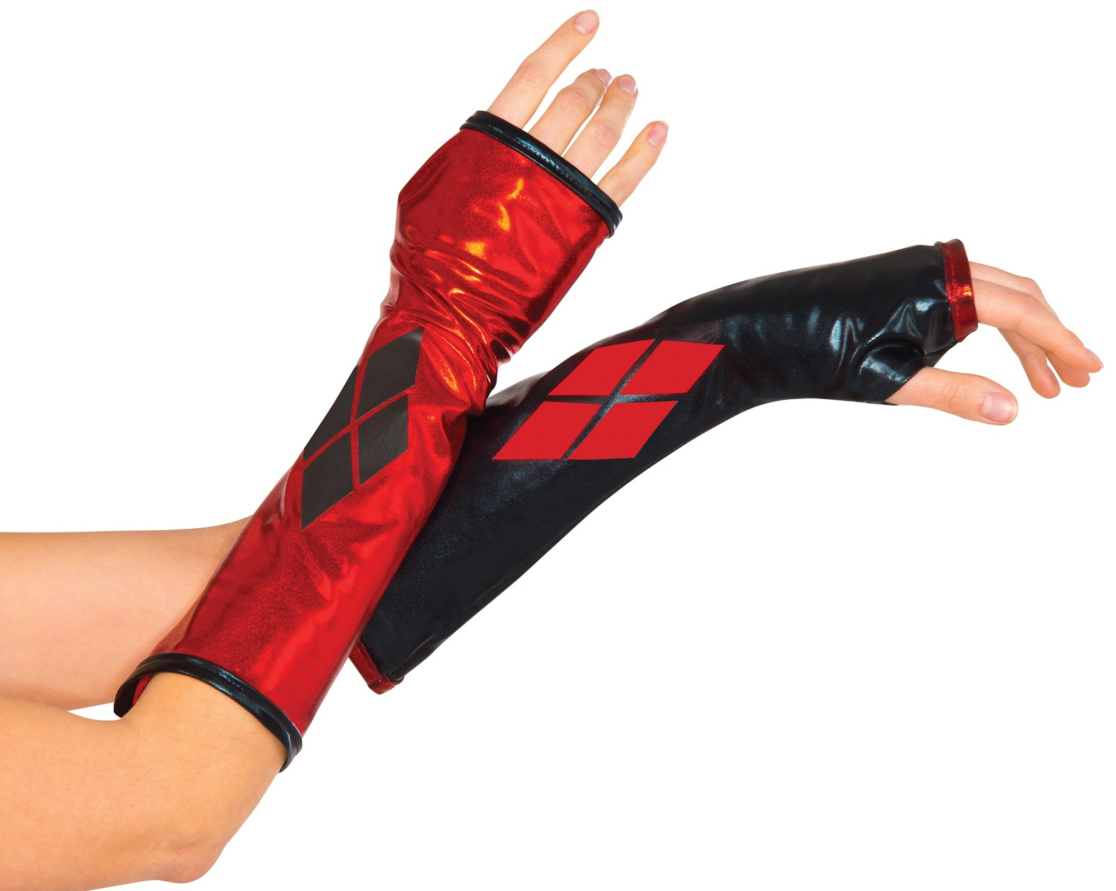Fingerless gloves canada - Harley Quinn Fingerless Gloves For Women