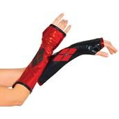 Harley Quinn Fingerless Gloves for Women