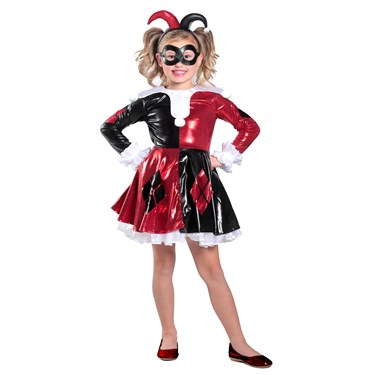 Harley Quinn Premium Child Dress