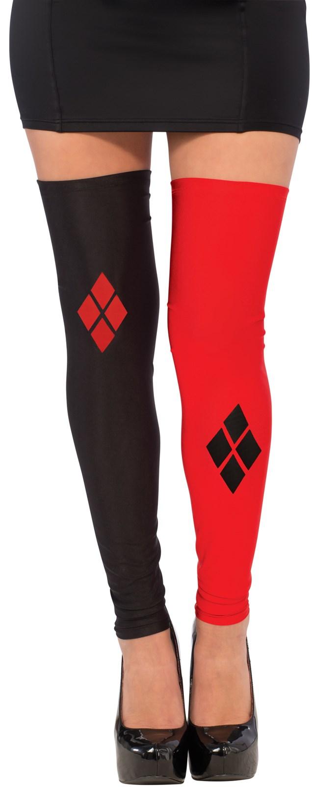 Harley Quinn Womens Thigh High Stockings