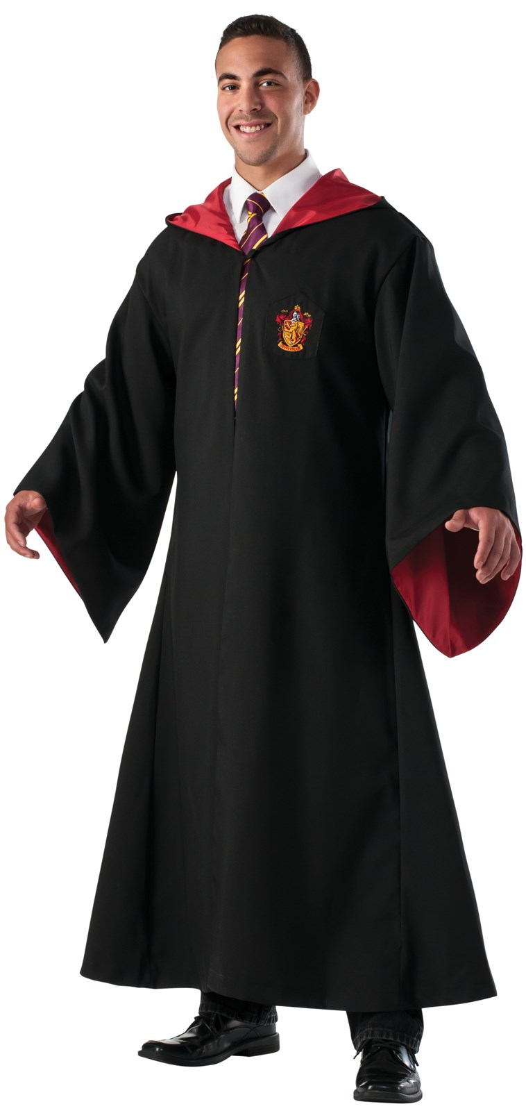 Harry Potter Deluxe Replica Gryffindor Robe For Men | BuyCostumes.com