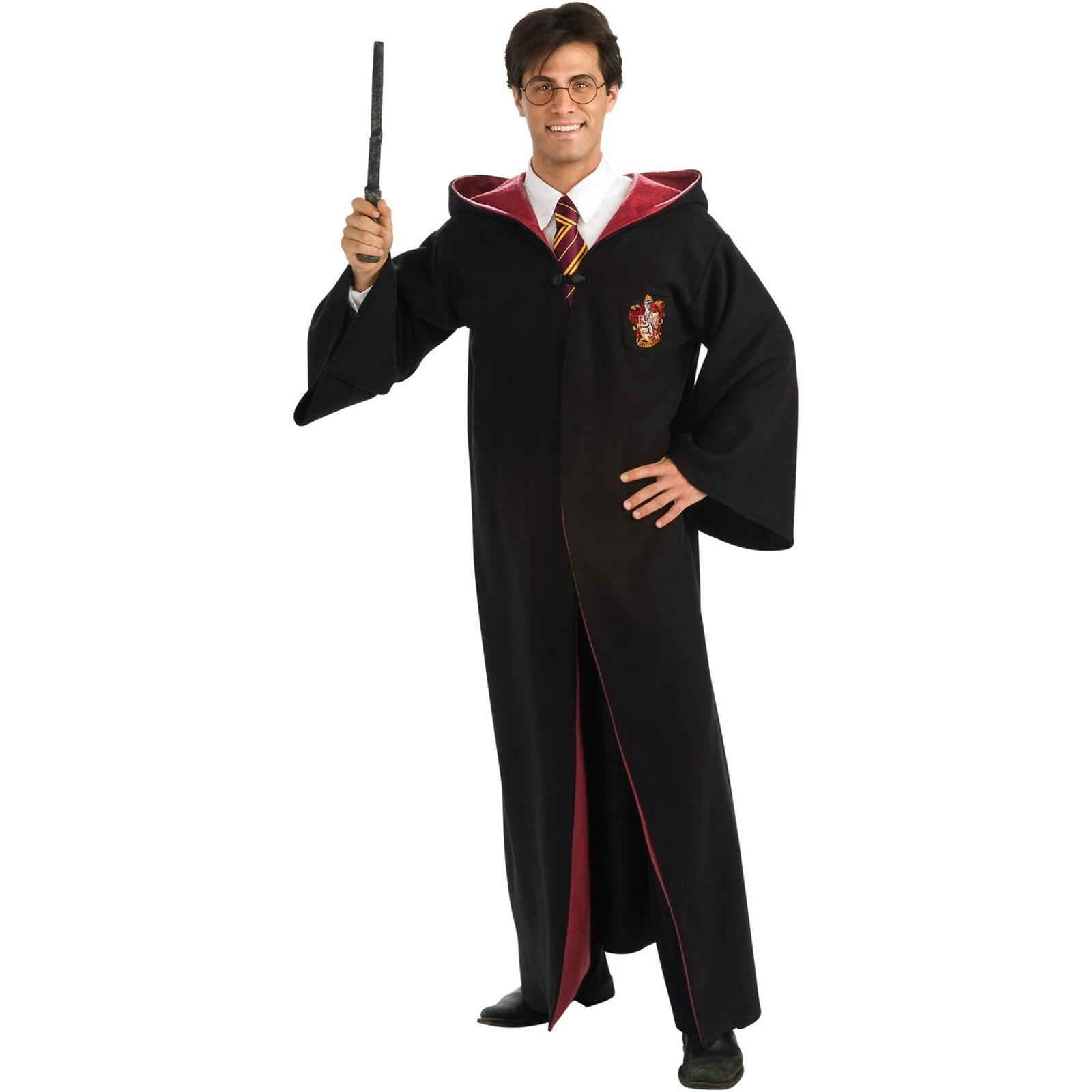 harry potter deluxe robe adult costume. Black Bedroom Furniture Sets. Home Design Ideas