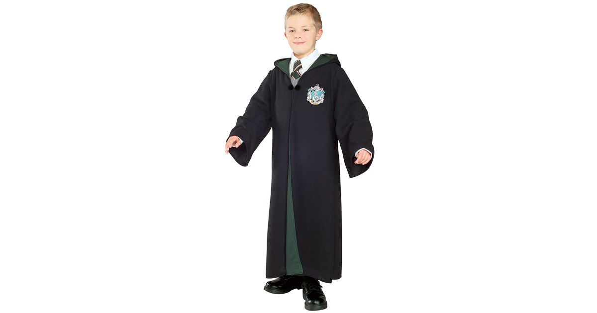 harry potter deluxe slytherin robe child costume. Black Bedroom Furniture Sets. Home Design Ideas