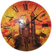 Haunted House Clock