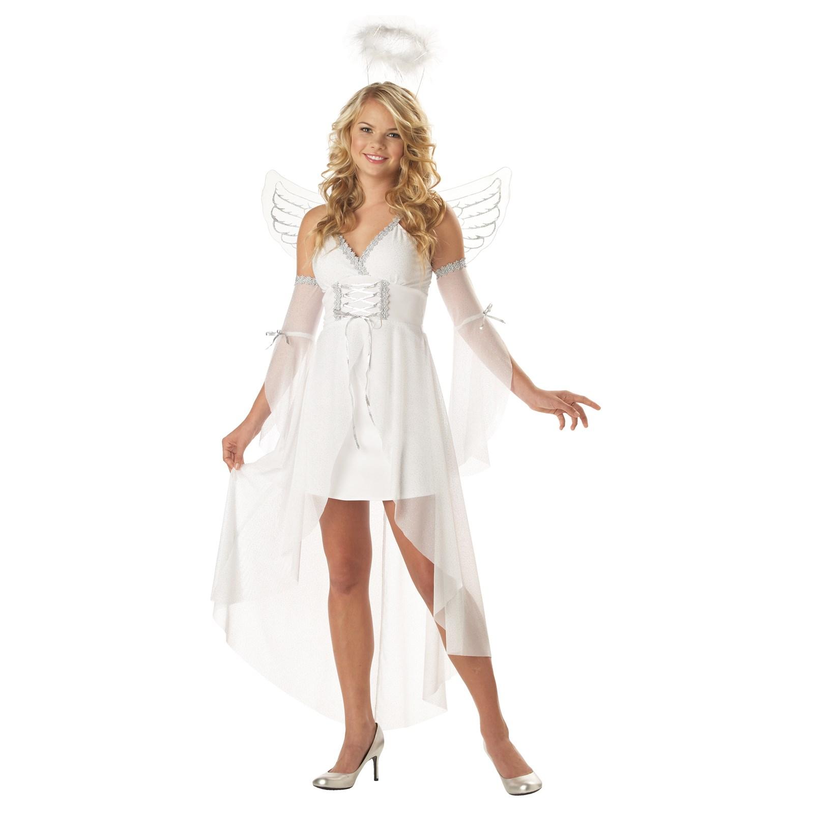 heaven 39 s angel adult costume. Black Bedroom Furniture Sets. Home Design Ideas