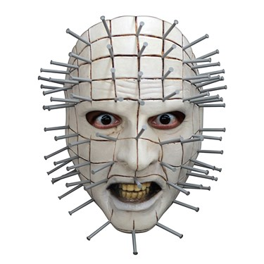 Hellraiser III Pinhead Face Adult Mask