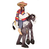 Hey Amigo Adult Costume with Rider