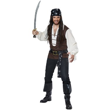 High Seas Adventurer Adult Costume