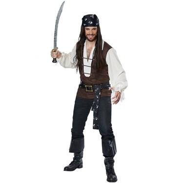 High Seas Adventurer Adult Plus Costume