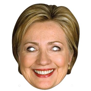 Hillary Clinton Paper Mask