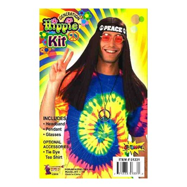 Hippie Accessory Kit (Adult)
