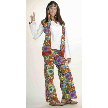 Hippie Dippie Woman Adult Costume