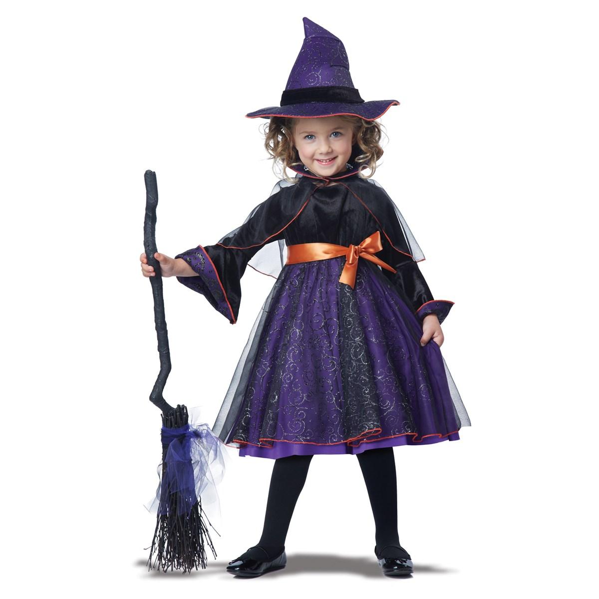 Костюм ведьмы для девочки своими руками 29
