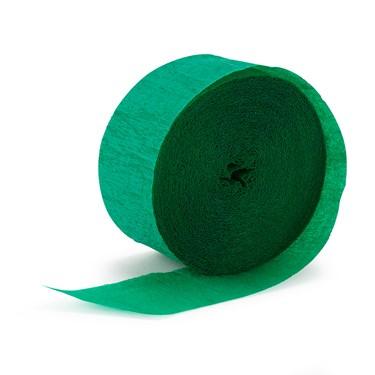 Holiday Green (Green) Crepe Streamer -81'