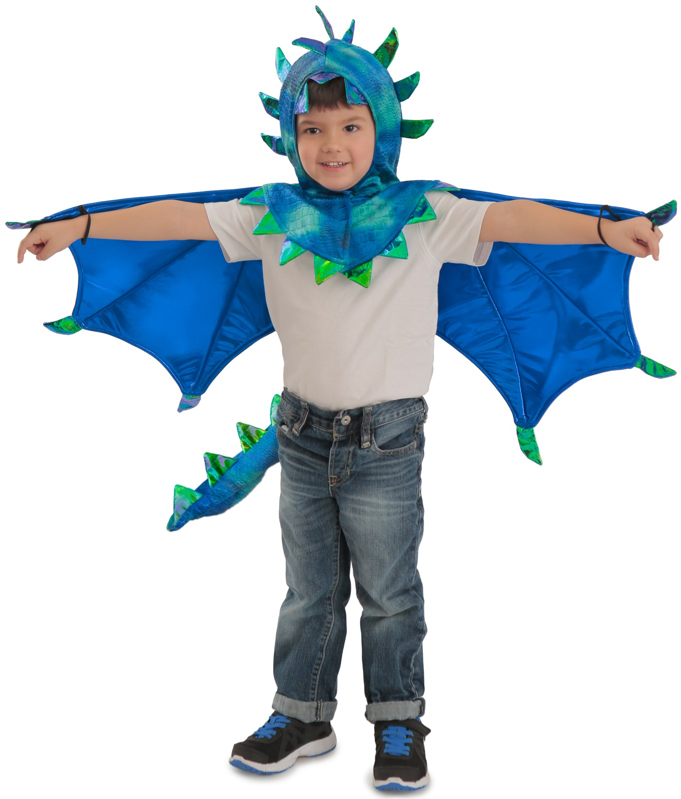 Hooded Sully Dragon Kids Costume