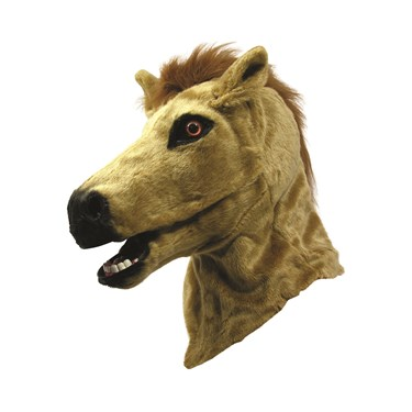 Horse Moving Mouth Adult Mask
