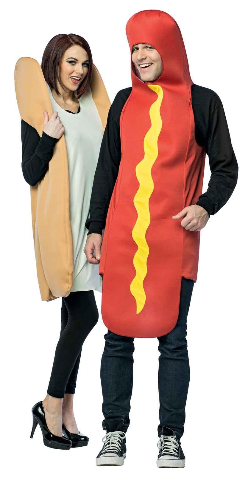How To Make A Hot Dog Bun Costume