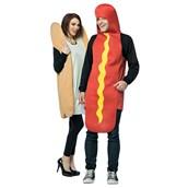 Hot Dog & Bun Couples Costume