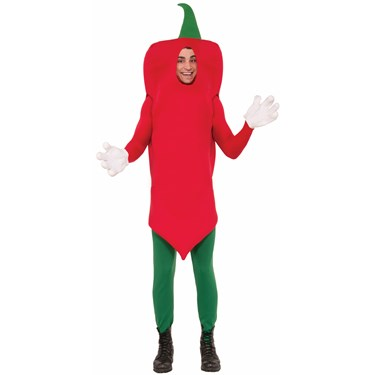 Hot Pepper Costume for Adults