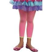 Hot Pink & Lime Green Leggings For Kids