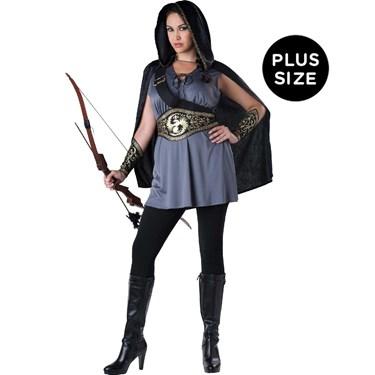Huntress Dress - Womens Plus Size Costume