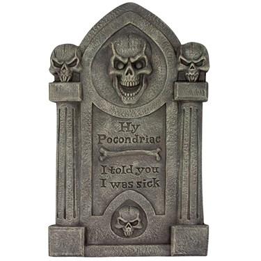Hy Pocondriac Tombstone