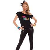 I Love The 80s Shirt Adult Costume