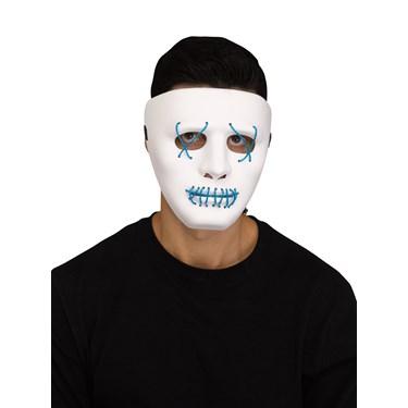 Illumo Blue LED Light Up Mask