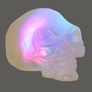 Indiana Jones - Color Changing Crystal Skull