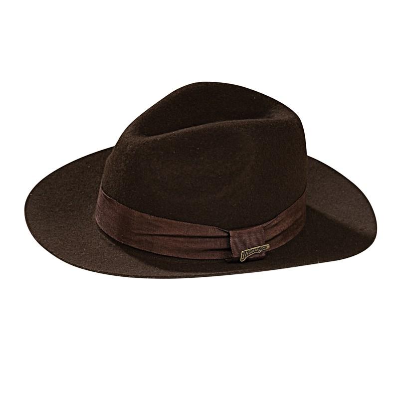 Rubies Costumes Adult Indiana Jones - Deluxe Indiana Jones Hat Adult- Brown: One-Size